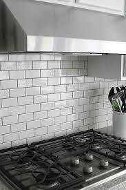 white subway tile kitchen backsplash subway tile kitchen backsplash how to withheart