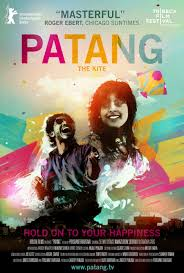 movie poster for the indian indie film patang film fun movie