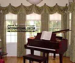 types of window treatments gallery of window treatments for bay