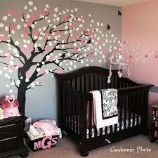 chambres bébé fille chambre de bébé sticker arbre décoration decoration