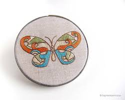 embroidery patterns kaleidoscope butterfly embroidery