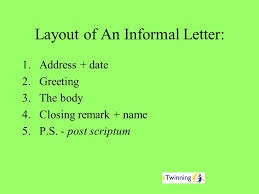 different types of informal letters ppt video online download