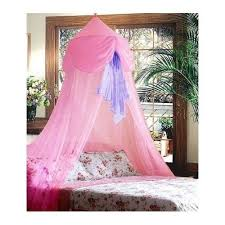 princess toddler bed canopy crib hanging ceiling girls pink purple