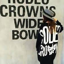 rodeo crowns 新品 rodeo crowns rcwb big logoニットワンピ 新品 中古の