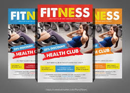 fitness flyer template amazing fitness flyer template pictures resume sles writing