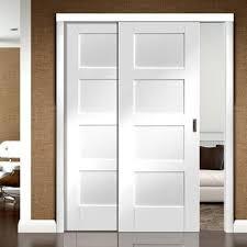 Room Divider Doors by Easi Slide White Panel Easi Slide White Room Divider Door System