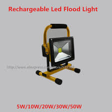 10w rechargeable flood light free shipping 10pcs lot 10w rechargeable led floodlight waterproof