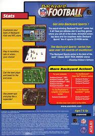 Wii Backyard Football by Backyard Football 2004 Box Shot For Pc Gamefaqs