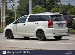 mpv car 2017 chiang mai thailand auguest 11 2017 private mpv car toyota