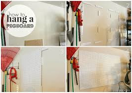 duo ventures how to hang a pegboard