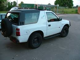 opel frontera modified car picker vauxhall