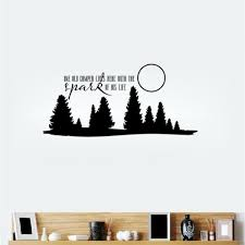 compare prices on curve sticker online shopping buy low price dsu removable wall sticker one old camper lives here wall decal forest and moon decal home