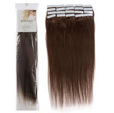 Really Cheap Human Hair Extensions by Amazon Com Emosa 4 16 Inch 20 Pcs Total 50g 100 Remy Stright