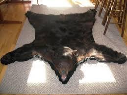 Polar Bear Fur Rug Extraordinary Bear Skin Rugs With Head Pics Design Inspiration
