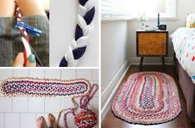 Braided Rugs Instructions T Shirt Braided Rug Diy Tutorial Video Instructions