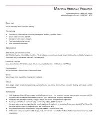 Sample Dot Net Resume For Experienced by Curriculum Vitae Download Cover Letter For Resume Field