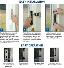 Secure Sliding Windows Decorating Sliding Glass Door Security I83 On Charming Home Decoration
