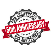 fiftieth anniversary fiftieth anniversary vector images 90
