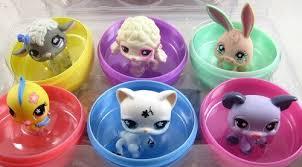 littlest pet shop easter eggs littlest pet shop exclusive easter eggs 6 pack of