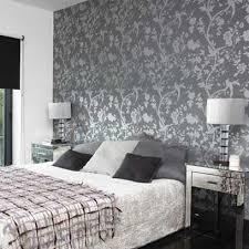 chambre papier peint papier peint chambre adulte tendance tissu d