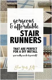 Diy Runner Rug Sources And Tips For Diy Stair Runners Shine Your Light