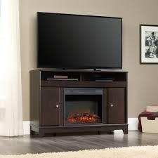 sauder select entertainment fireplace credenza 419116 sauder