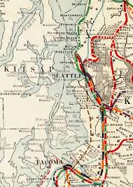 Wa State County Map by Between The Lines Kitsap County