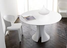 home design graceful round white dining tables cool modern