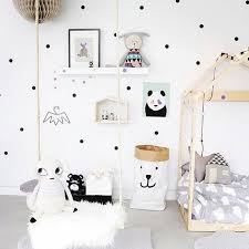 chambre enfant scandinave enfants enfants scandinave style d or polka points chambre wall