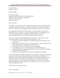 Cover Letter Example Resume by Referral Cover Letter Email