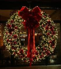 unthinkable led lighted wreaths artificial light outdoor