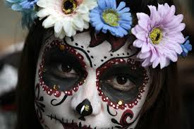 how mexico combines halloween and day of the dead into one surreal