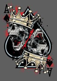 imagenes chidas de calaveras geniales posters con cráneos pasa o moriré calaveras