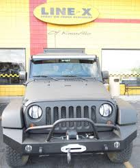 linex jeep blue bedliners line x of knoxville