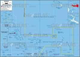 Micronesia Map Geoatlas Countries Kiribati Map City Illustrator Fully
