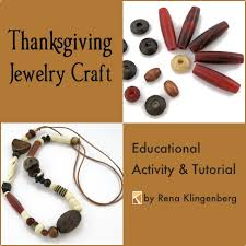 thanksgiving jewelry craft educational jewelry