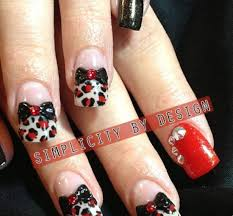 42 black nail designs with rhinestones nails pix