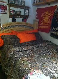 Orange Camo Bed Set 101 Best Gabes Room Images On Pinterest Camo Bedding Bed Sets