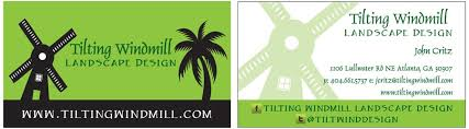 Landscape Business Cards Design Business Card Design Traci With An Eye