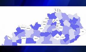 kentucky house map house bill aims to reduce number of kentucky counties 44news