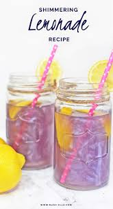 pool party ready shimmery lemonade recipe purple lemonade