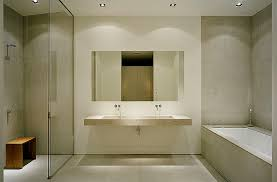 Bathroom  Simple Bathroom Design Featuring Shower Room Sliding - Simple bathroom designs 2