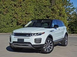 land rover hse 2016 2016 range rover evoque hse si4 road test review carcostcanada