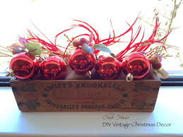 clover house diy vintage christmas decor