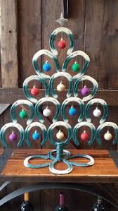 horseshoe christmas ornaments best 25 horseshoe christmas tree ideas on horseshoe