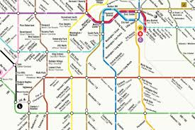 San Francisco Public Transit Map by Could La U0027s Rail System Ever Look Like This Curbed La