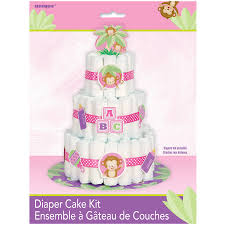 sleepy bear 3 tier diaper cake boy walmart com