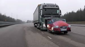 volvo big rig volvo trucks u2013 emergency braking at its best braking car