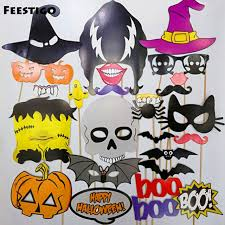 feestigo halloween party photo booth props