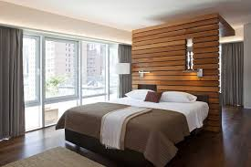 bedroom divider walls contemporary urban modern with wood slat